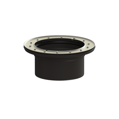 kessel extension section extended length, flange/counterflang