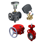 hvac - valves and actuators
