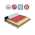 systèmes pour toitures inaccessibles autoprotégées avec isolation sur support bois