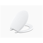 lustra™ with quick-release™ hinges round-front toilet seat with anti-microbial agent