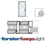 door forster fuego light ei60, single leaf