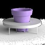 a-linéa circular backless bench