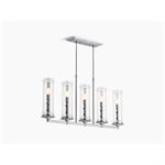 damask™ five-light linear