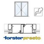 door forster presto, frame 50 mm, double leaf