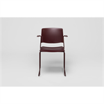 Ema armchair, open backrest
