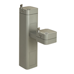 Model 3602FR, Modular Outdoor Freeze Resistant Double Drinking Fountain