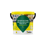 Revestimiento coloreado al silicato de potasio - webertene premium