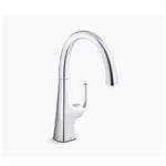 graze™ bar sink faucet with swing spout