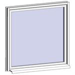fenêtre fixe