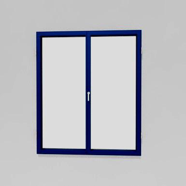 aluminum window - small opening hinge ≤2.3m2