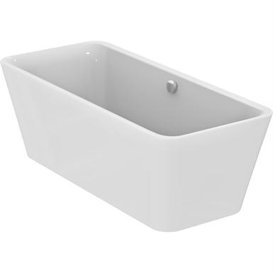 Körperform-Badewanne 1800 x 800 mm, freistehend mit Ablauf/Füller