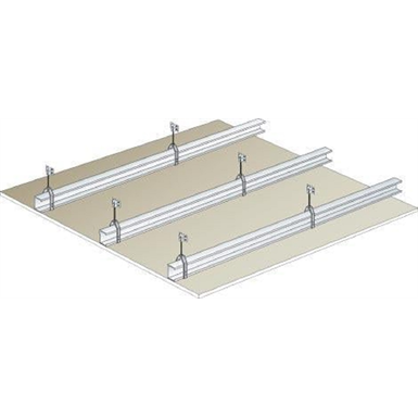 plasterboard ceiling - siniat prégymétal ba18 mm - rei30