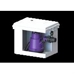 kessel-schmutzwasser-hebeanlage minilift kunststoff f. überflurinstallation