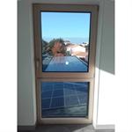 tonus - single casement window on fixed pane