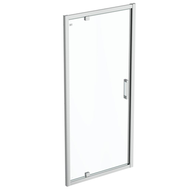 connect 2 pivot door 95 clear glass