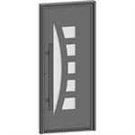 entrance door collection contemporaine lunaire