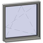 strip and multi-paned windows - 1 zone