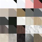 resopal unity - through-colour core high pressure laminate (hpl) and compact laminate