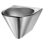 121130  wall-mounted bob washbasin