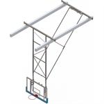 Kattoon kiinnitettävä koripallomaali    6,8-7,6 m , Akryylilauta, Taaksepäin nostettava