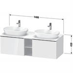 d-neo waschtischunterbau wandhängend de4950