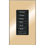 HomeWorks® QS RF seeTouch® Architectural keypad
