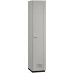 15-41000 Series Heavy Duty Plastic Lockers - Single Tier - 1 Wide