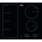 Zanussi Induction Full Hob 60 Black