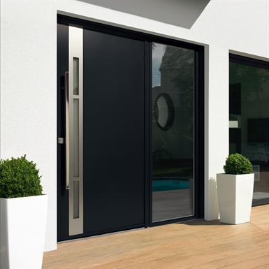 entrance door collection contemporaine