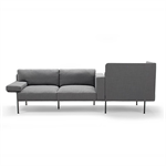 Varilounge Low, sofa 2-seater, easy chair right