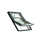 roto centre-pivot roof window designo r6 timber tronic