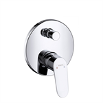 Focus Single lever bath mixer for concealed installation 31945003