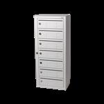Kompakt 270 7 compartments E 6 mm mail slot