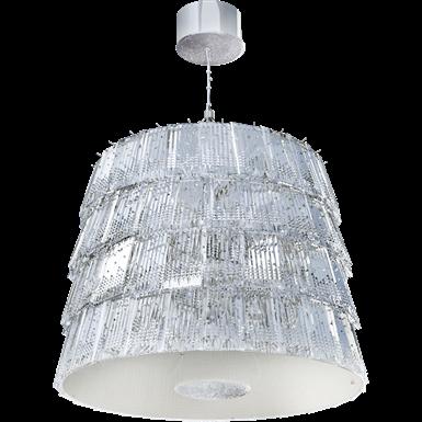 Tuile de Cristal Chandelier Medium size Piccadilly