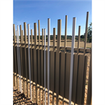 random top and bottom stem® wall fence