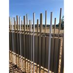 random top and bottom stem® wall fence