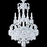 solstice chandelier ceiling 24l