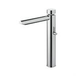 UNIC self-closing mixer - washbasin w/o tap hole (mixed water inlet)