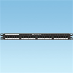 Category 5e RJ21 to RJ45 24-Port or 48-Port Patch Panels