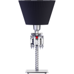 torch lamp black lampshade