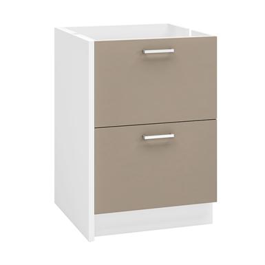 meuble bas deux tiroirs 60 cm