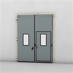 ASSA ABLOY FD2250P Folding Door (2+0)(0+2) Manual DLW 1265-2500mm, DLH 1850-6000mm