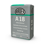 ARDEX A 18 - Staples inside and outside