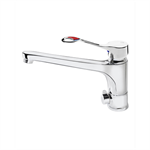 Care kitchen mixer low cast spout