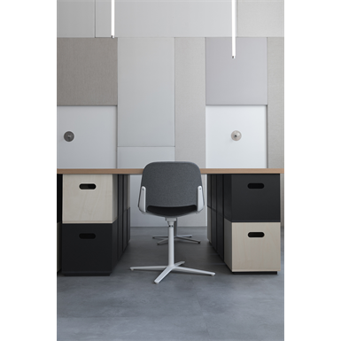 cube – modular seated and storage system - table