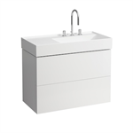 KARTELL BY LAUFEN Vanity unit 880 mm R, 2 drawers, incl. drawer organiser, matches washbasin 810339