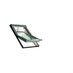 roto centre-pivot roof window designo r4 timber tronic