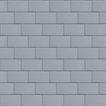 großraute fassade (333 mm x 600 mm, horizontal, prepatina blaugrau)