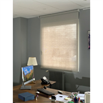 interior blind - manual or electric operation