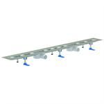 shower channels ceraline nano f duo 800-2000 mm, dn 50